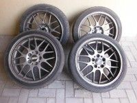 18″ BBS cast rims available