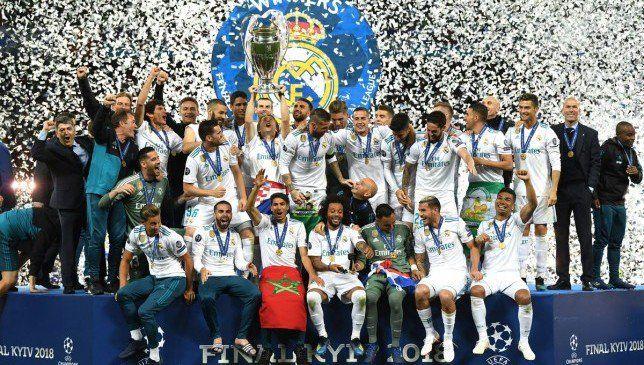 ريال مدريد يتصدر تصنيف أندية أوروبا في عام 2018 موقع سبورت 360 أعلن الاتحاد Real Madrid Wallpapers Real Madrid Champions League Real Madrid Logo Wallpapers