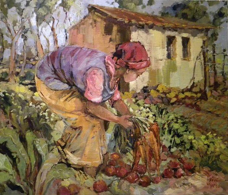 Lien se groentetuin   Aviva Maree Art