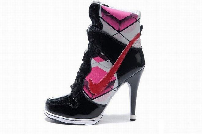 Nike Dunk Sb High Heels Black Pink | Nantucket Wine Festival