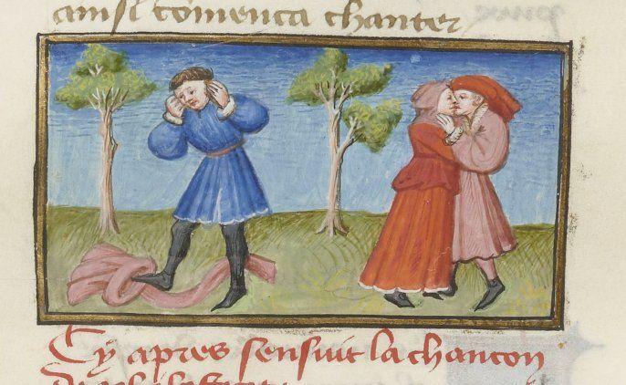 « Livre appelé Decameron , aultrement surnommé le Prince Galeot », de « JEHAN BOCCACE », traduction exécutée sur une traduction latine par «...