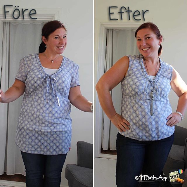 Remake and Refashion a blouse.  Toregårds lilla lotta