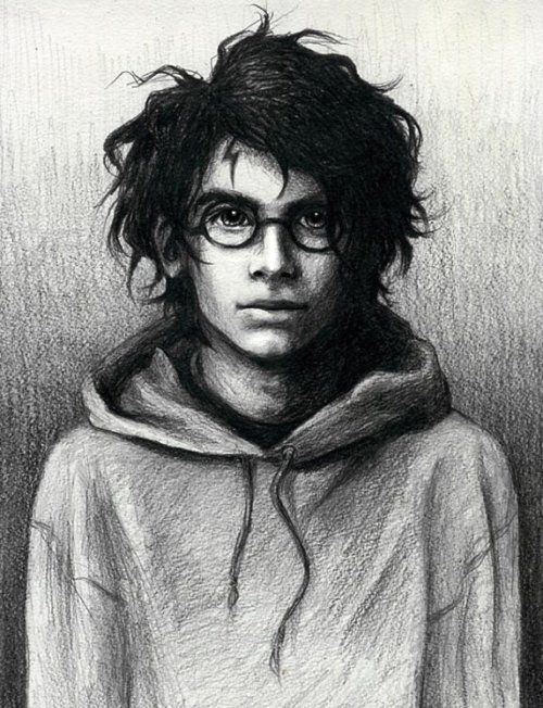 the boy who lived, Harry from the book