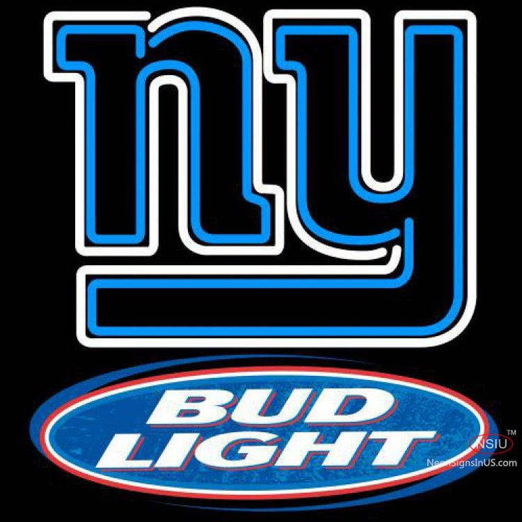 Bud Light New York Giants NFL Real Neon Glass Tube Neon Sign,Affordable and durable,Made in USA,if you want to get it ,please click the visit button or go to my website,you can get everything neon from us. based in CA USA, free shipping and 1 year warranty , 24/7 service