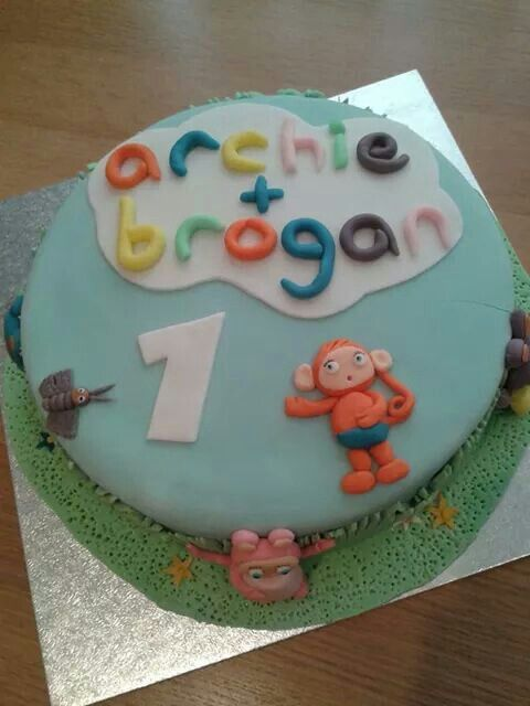 Archie's 1st birthday cake