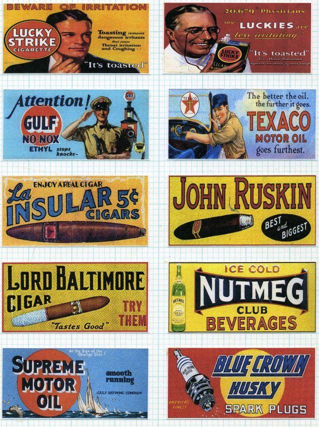 E A D D Antique Signs Vintage Signs