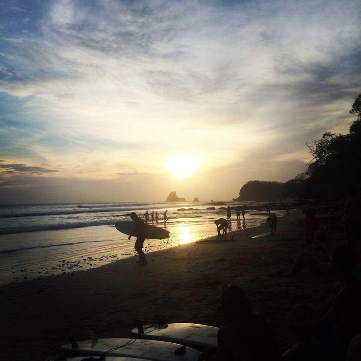 La fameuse plage de Maderas à San Juan del Sur