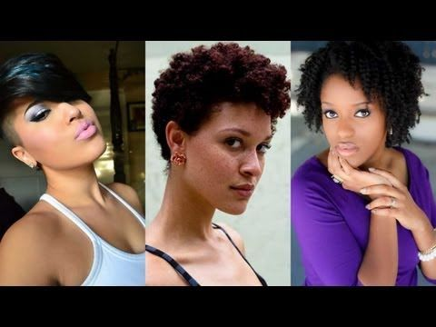 C Natural Hair Styles Videos