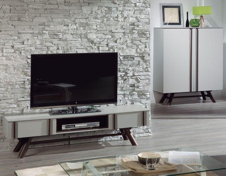 Les 25 meilleures id es concernant meuble tv scandinave for Agencement meuble salon