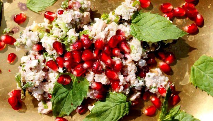 Kvinoa-tonnikalasalaatti