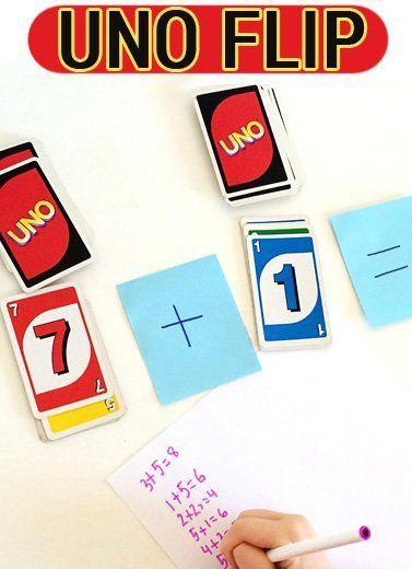 Math Games for Kids: Uno Flip