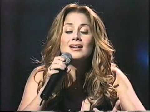 """LARA FABIAN - """"Love by grace"""". (Spectacular, passionate, the music represented inside and outside her.)"""