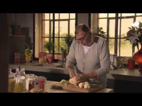 Johan Segers - Hamburger met bloemkool en witte saus