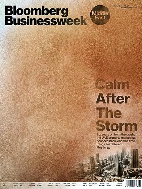 Bloomberg BW (Middle East). Art Director Steven Castelluccia.