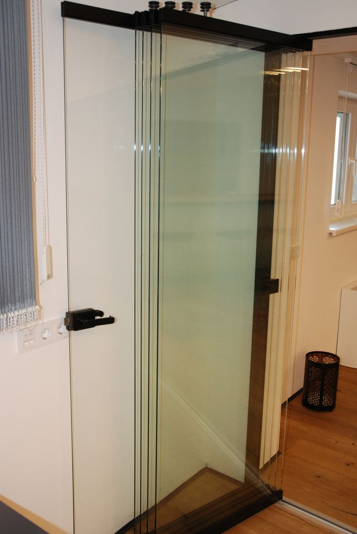 Falttür Glas für innen oder außen in 2019 | Glasschiebetüren ...