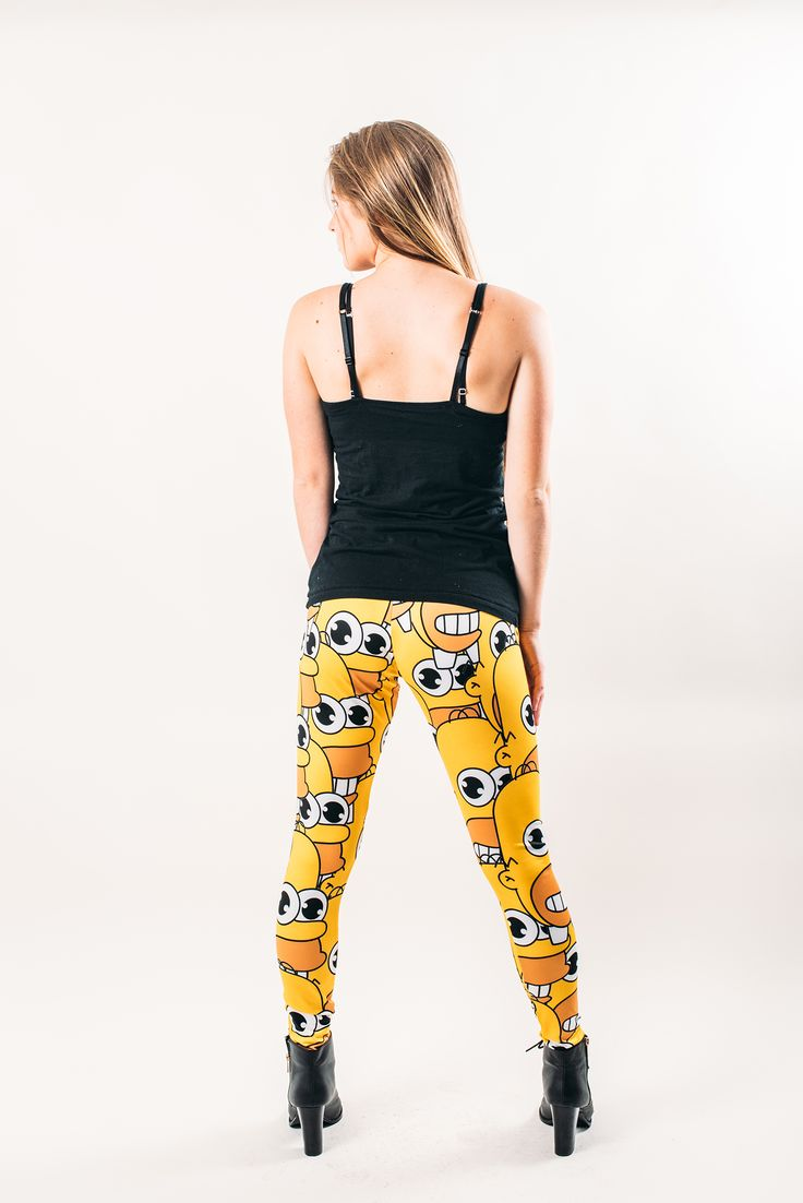 Mr Sparkle Leggings Back ----- Available for Purchase at the link below Enter code: Launchweek at checkout and get 20% off your order only at www.wtfwear.ca SKU#: LGG034