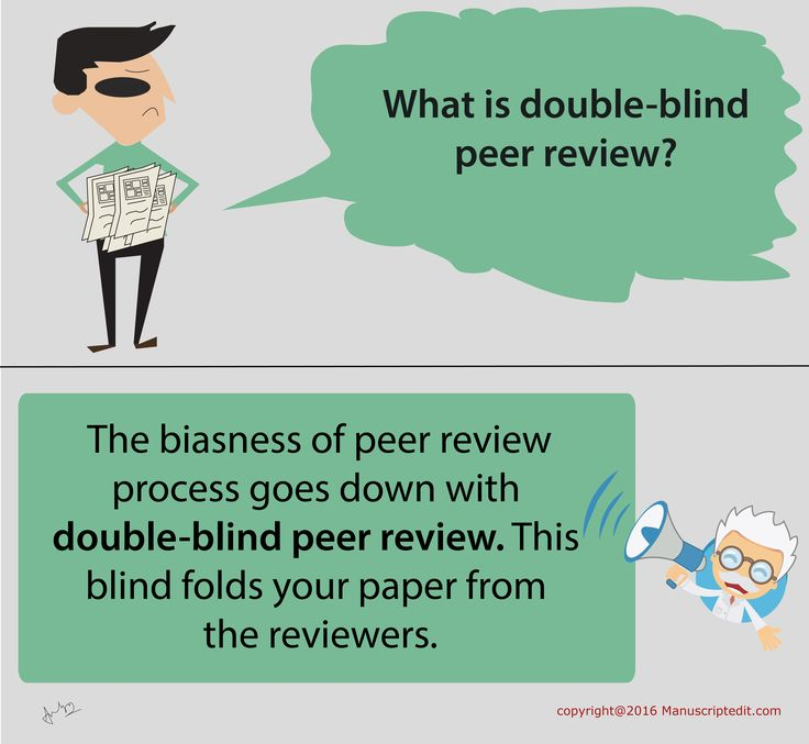 #‎Manuscriptedit‬ @ Double-blind peer review:  The biasness of peer review process goes down with double-blind ‪#‎peerreview‬. This blind folds your ‪#‎paper‬ from the ‪#‎reviewers‬.  #Manuscriptedit #peerreview : http://bit.ly/22eN8Vu