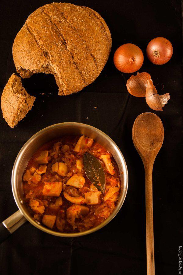Σουπιές στιφάδο 1: Onions Stew, Wonderfoodland, Help, Recipe, English Μελωμένο, Cuttlefish, Σουπιές Στιφάδο, Greek Food, I'M
