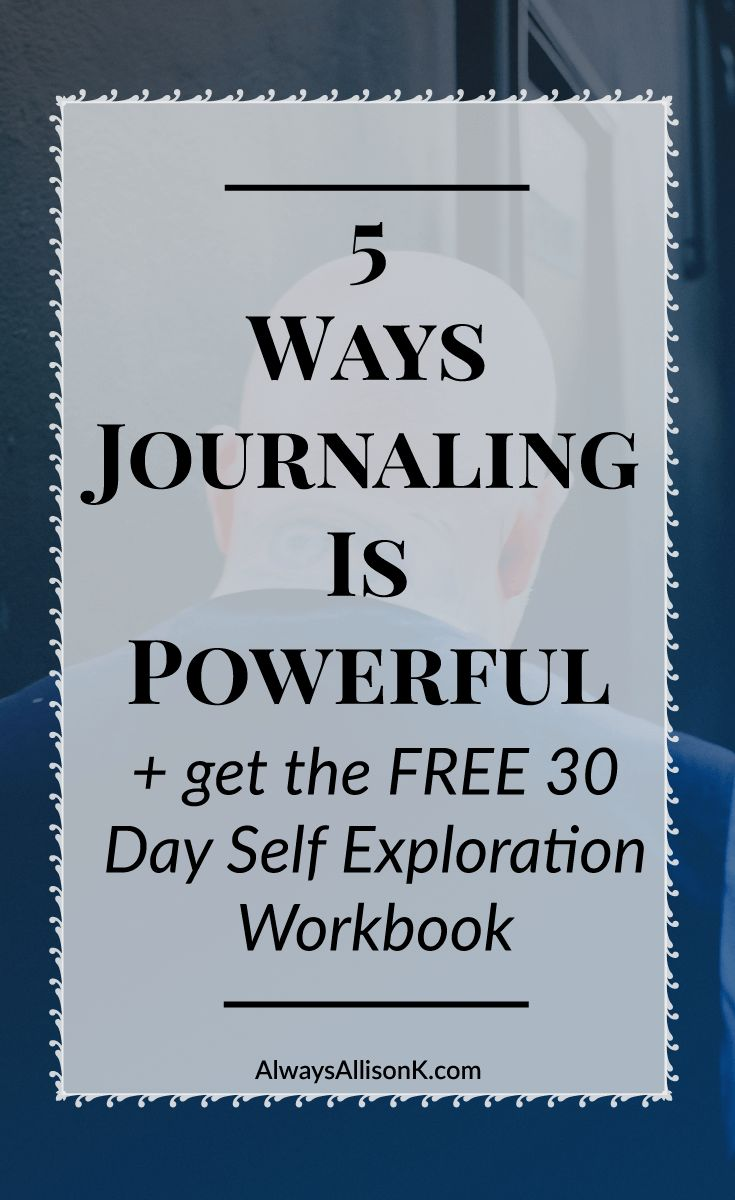 Journaling can change your life. Everyone from bloggers to business owners to stay at home moms should have a journal to improve their mental and emotional wellbeing. Click through to learn the 5 main ways that journaling can be powerful plus get access to the FREE 30 day self exploration workbook.