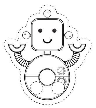 Little Robot Finger Puppet | Pi'ikea St.