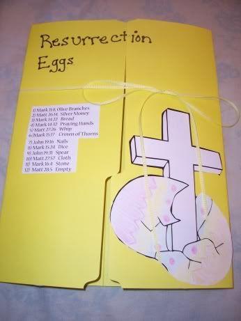 Resurrection Eggs Lapbook