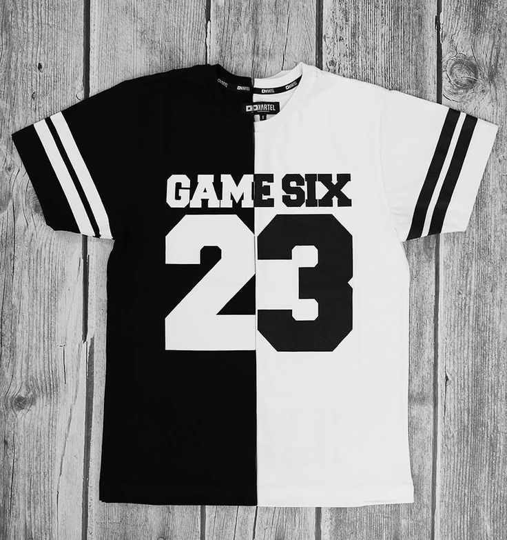 KARTEL BRAND  T-shirt GAME SIX 23 - black & white --> shop at: http://www.hustla.pl/kartel/  www.kartelbrand.com
