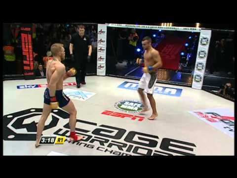 Young Conor McGregor Destroys His Opponent With Vicious Striking