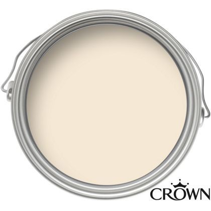 Crown Kitchen and Bathroom Breatheasy Rice Pudding - Matt Paint - 2.5L