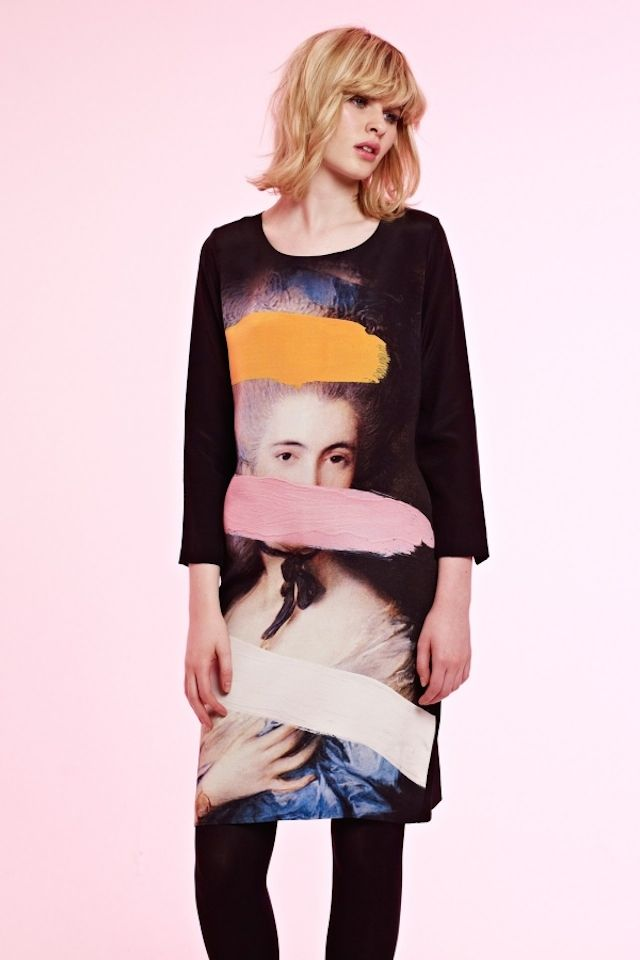 Classical Paintings in Clothes