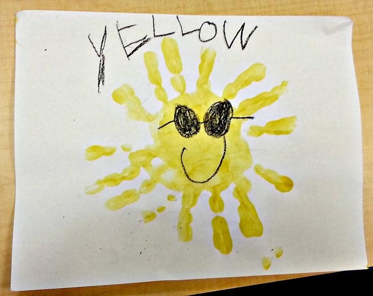 Color crafts for preschoolers prek