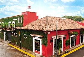 Hotel Casa Mexicana, Tapachula, Chiapas, México.  A 1 cuadra del Parque Central Miguel Hidalgo.