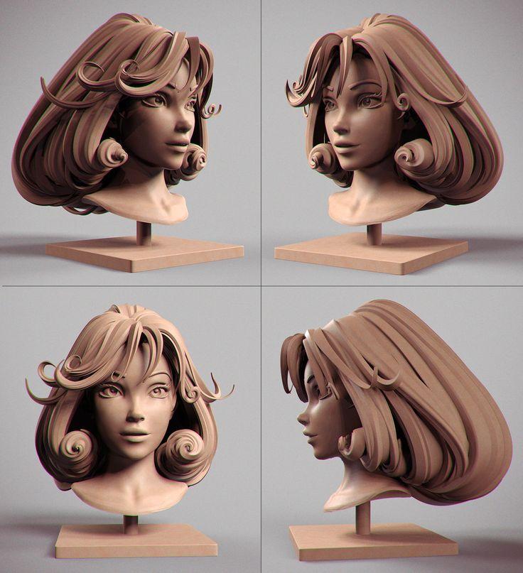 ArtStation - Fourmille's head , Alexandre Fiolka
