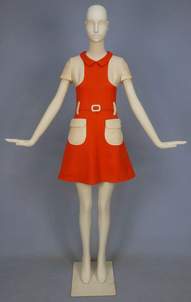Courreges Wool Dress, 1960's