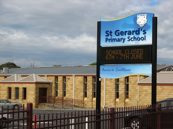 St Gerard's Primary School #CSI #LED #sign