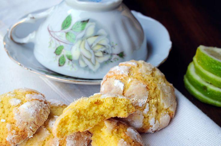 Biscotti morbidi al limone facili e veloci | Arte in Cucina