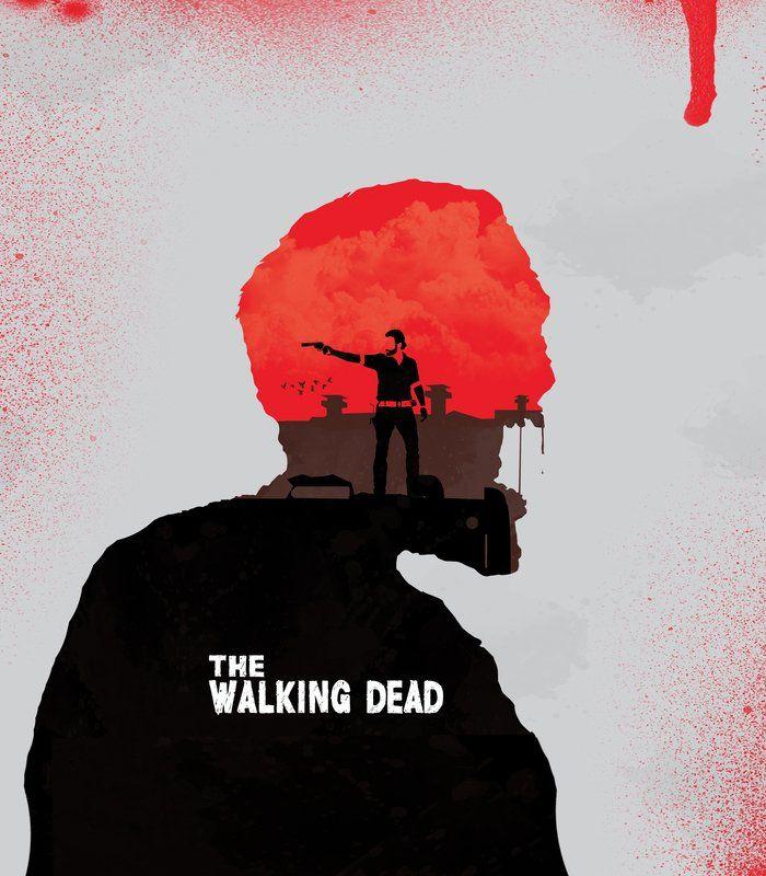 Arte THE WALKING DEAD de Mateus Quandt | Disponível em camiseta, poster, almofada, caneca, moletom e capinha. Só na @toutsbrasil