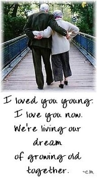 It seems like just yesterday,we said come grow old with me?!