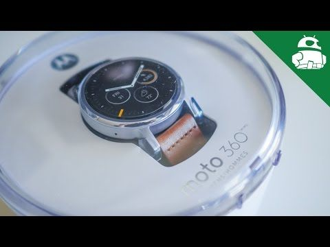 Moto 360 (2nd Gen) Unboxing and Initial Setup - YouTube
