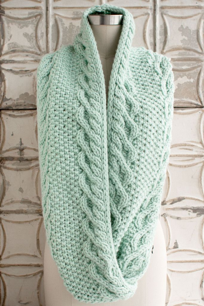 Excepcional Free Knitting Patterns For Cowls Imagen - Manta de Tejer ...