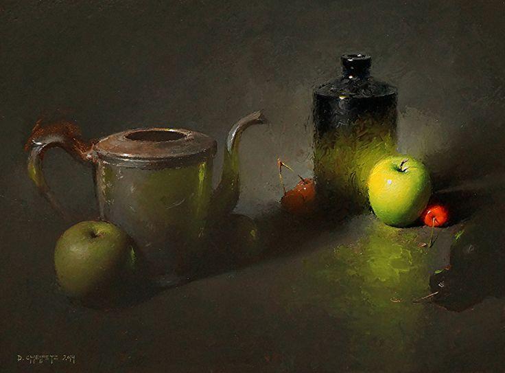 Viridescent by David Cheifetz Oil ~ 9 x 12