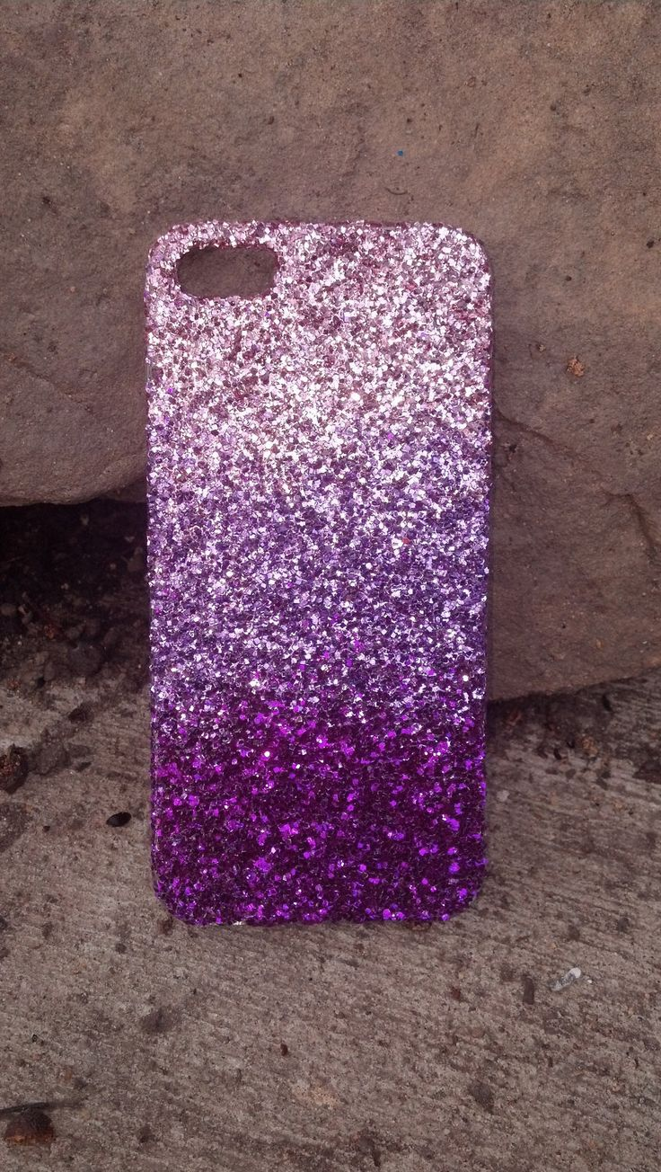 Ombre Glitter Eye Makeup Brushes Set Rose Gold In Make Up: Glitter Iphone 4 Iphone 5 Case Glitter Case Ombre Faded