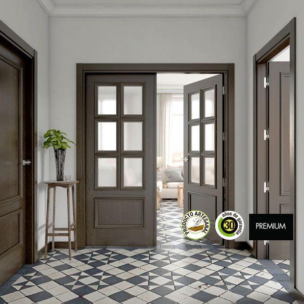 M s de 25 ideas incre bles sobre puertas grises en for Oferta puertas blancas interior