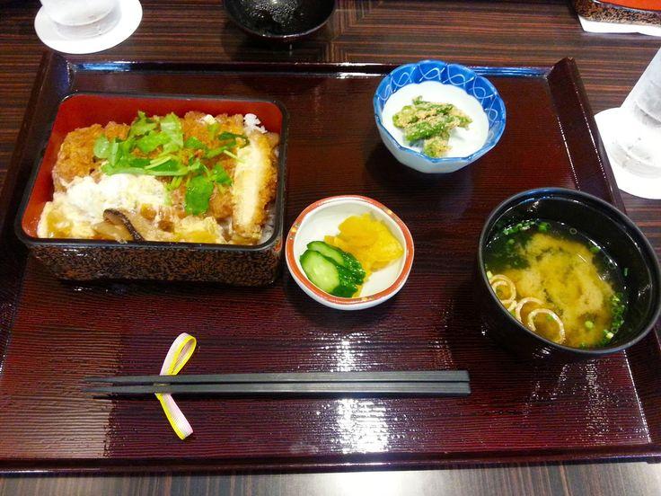 Japanses bento in Tokyo