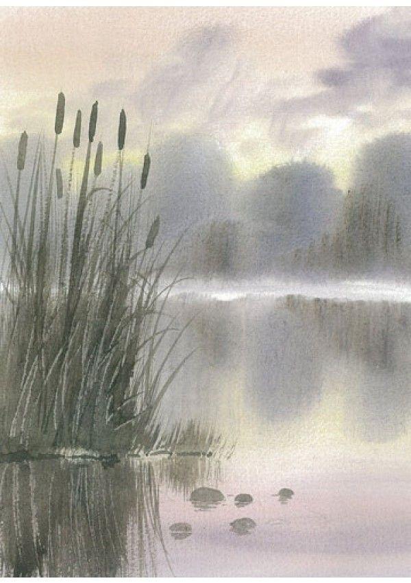30 Minutes Chrono Peindre L Eau A L Aquarelle Peinture Paysage
