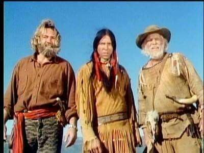 Members of the cast of Grizzly Adams