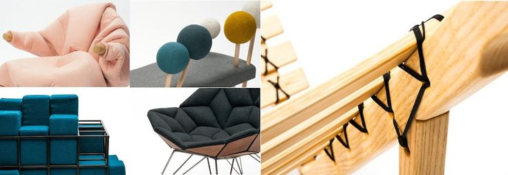 #ArchiPanic: Made Exhibition, The New Textile furniture Stockholm Furniture Fair - @ #SFF2014  @sthlmfurnfair: the playful #PinSofa by Demeter   http://www.archipanic.com/the-new-textile-furniture/