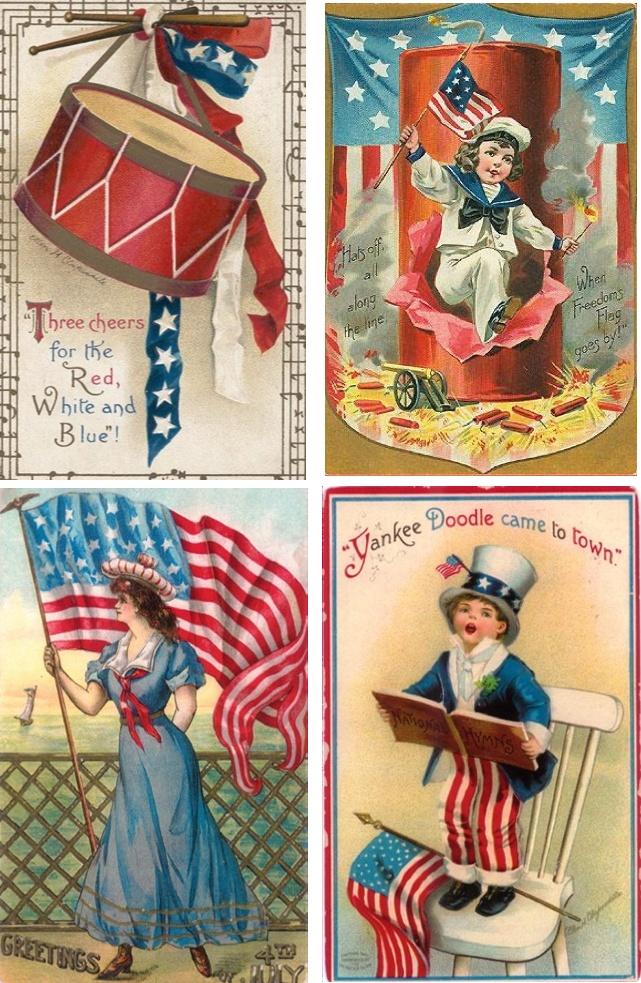 Love vintage postcards