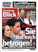 Sonntagsblick im Abo bestellen.    Die Zeitung SonntagsBlick macht aus dem 7. Tag ein lustvolles Vergnügen. Nicht umsonst ist er die meistgelesene Sonntagszeitung der Schweiz!  http://leserservice.ch/produkte_detail.cfm?ID=525&language=1