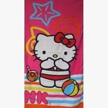 Super Cute & Cool Cartoon Hello Kitty or Gadget Cat Microfiber Bath Towels for Kids 4 Styles to Choose From!