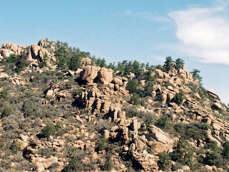 American Southwest Summit Rocks